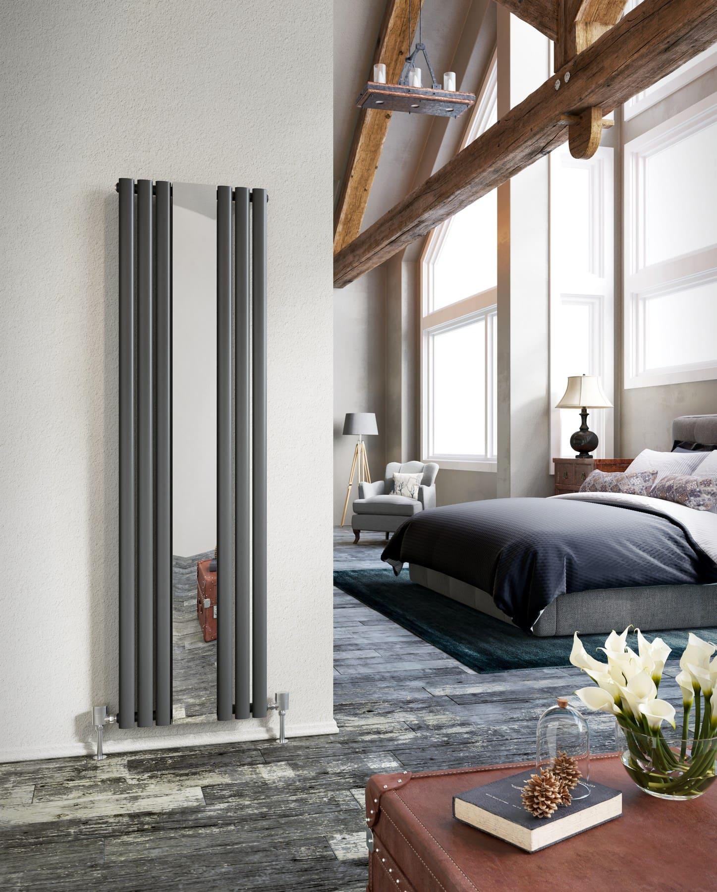 Mirrored Radiators
