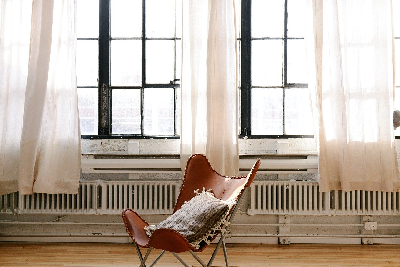 Chrome radiators provide lower heat output