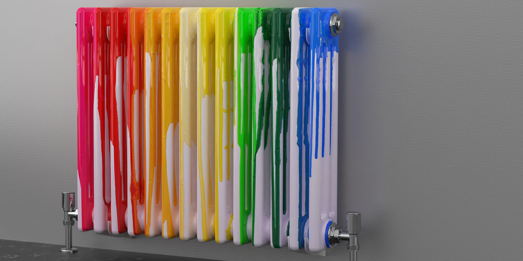 Painted radiators vs chrome radiators - Which is right for you?