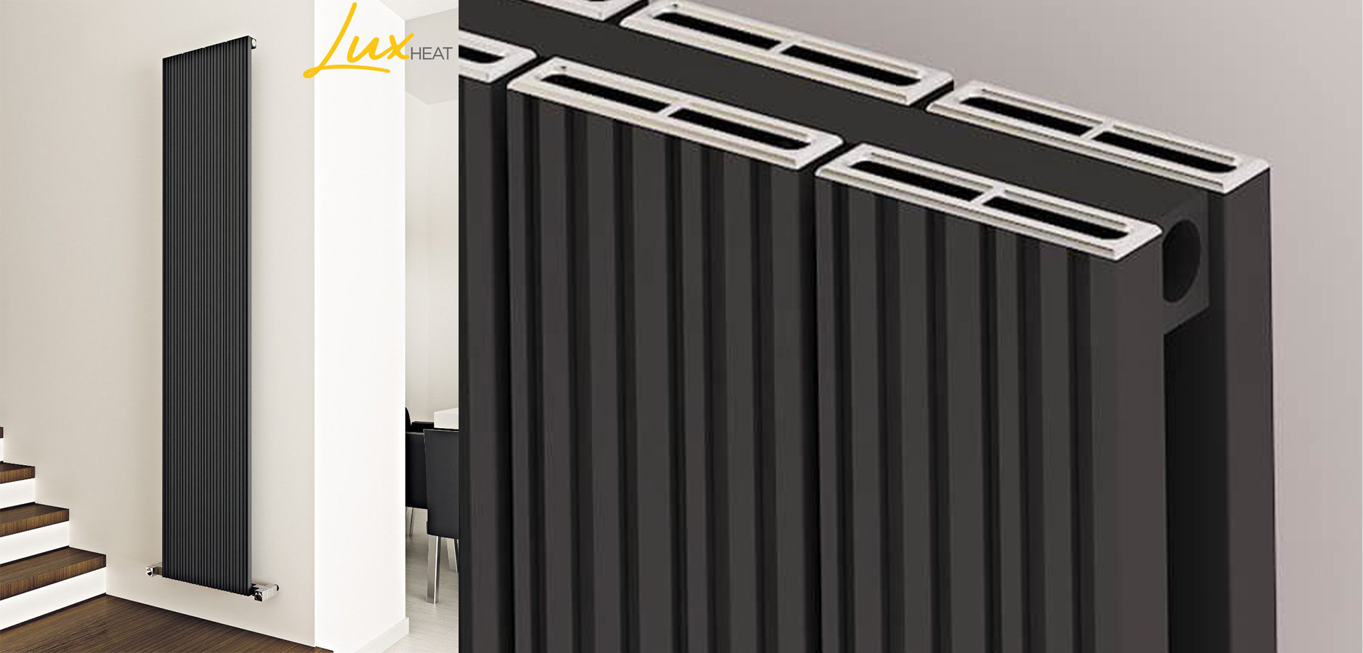 Black Radiators Are The Biggest Trend In Home Improvements Right Now